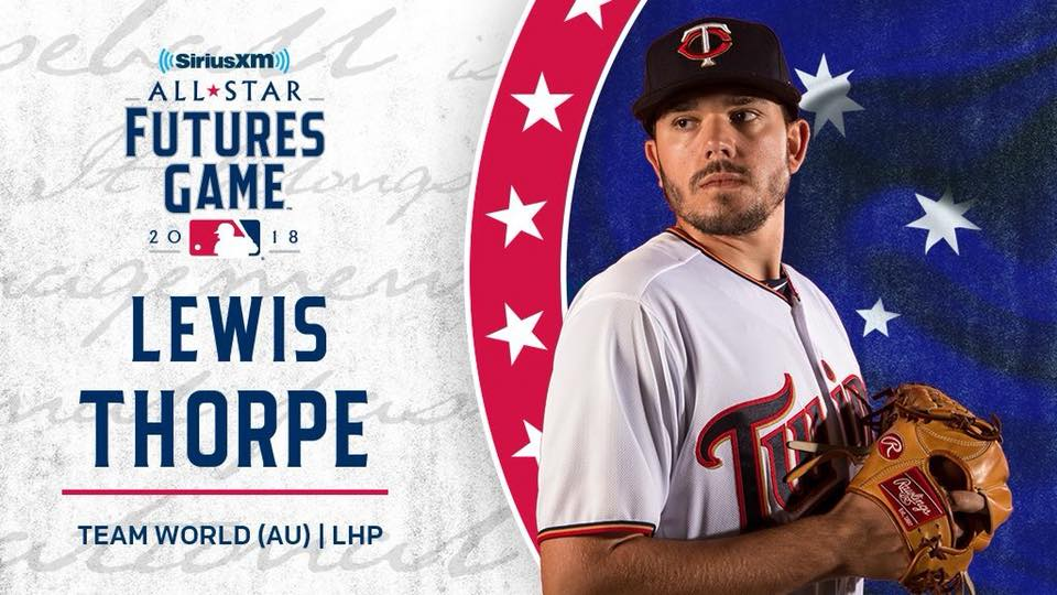 Thorpe selected for Futures Game